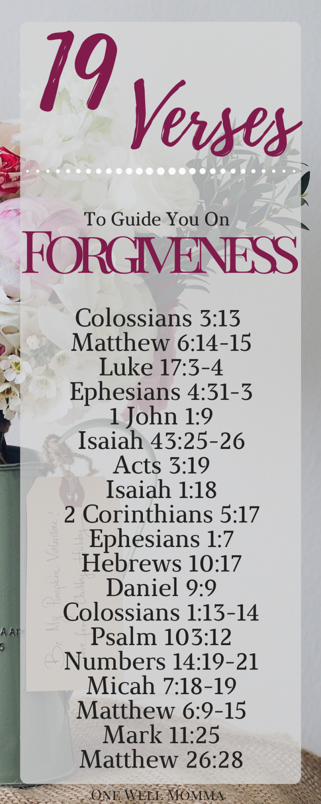You are forgiven bible verse