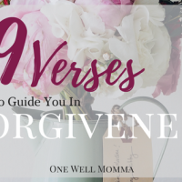 19 Verses To Guide You in Forgiveness