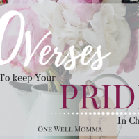 30 Verses To Keep Your Pride In Check