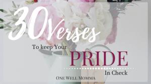 OWM Blog 30 Verses Pride