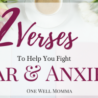 32 Verses To Fight Fear and Anxiety