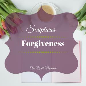 PBC Scriptures Forgiveness